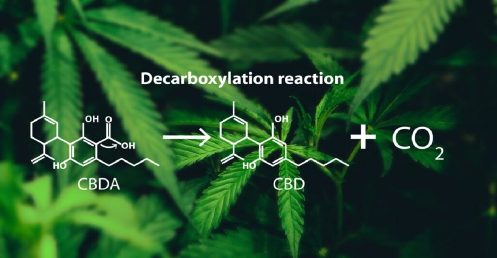 Decarboxlyation