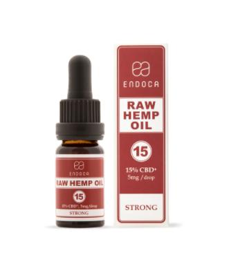 Endoca Raw CBD Oil CBD-ML (STRONG) (1)