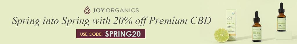 Joy Organics Spring Promotion