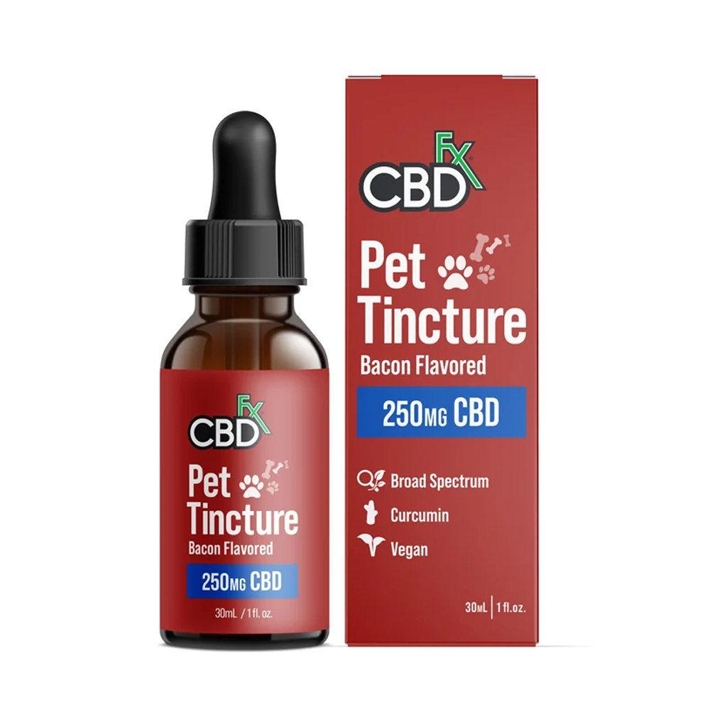 CBDfx Pet Tincture Bacon Flavored (250mg CBD)
