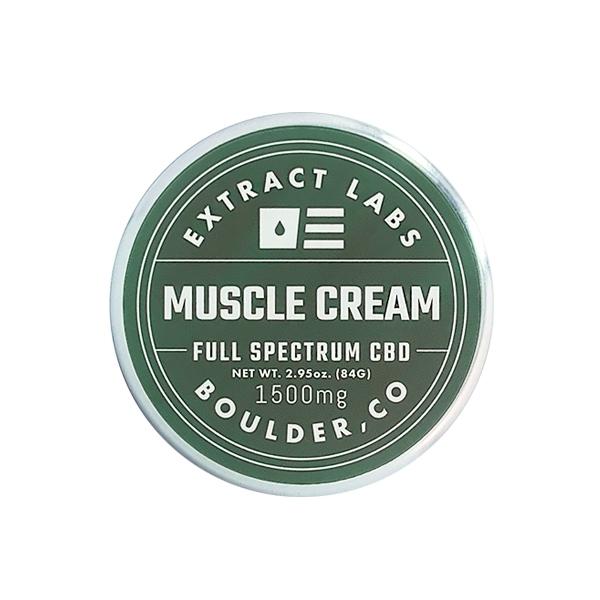 Extract Labs Muscle Cream Full Spectrum CBD (1500mg)