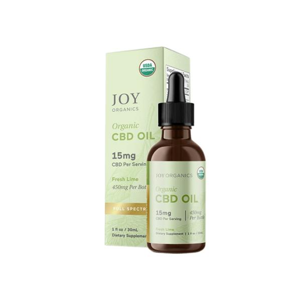 Joy Organic Organic CBD Oil Fresh Lime (15mg)