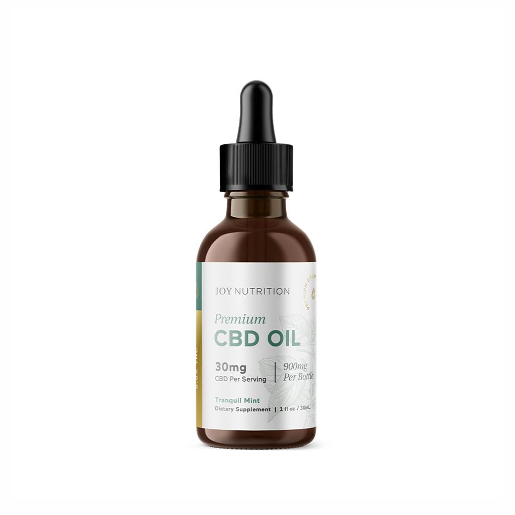 Joy Organic Premium CBD Oil Tranquil Mint (30mg)