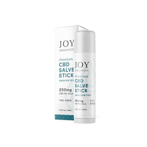 Joy Organics CBD Salve Stick 250mg
