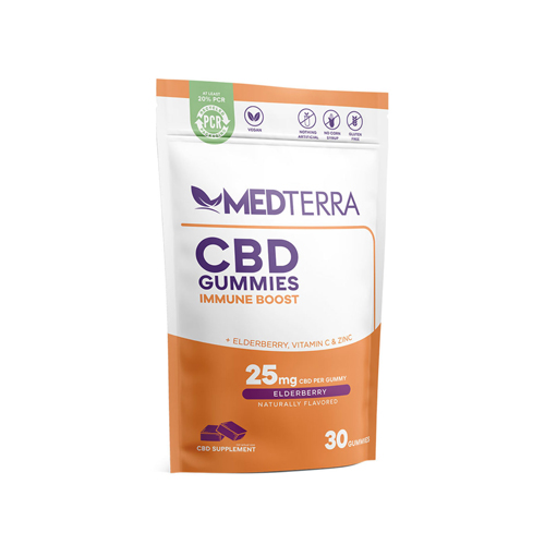 MedTerra CBD Review CBD Gummies Immune Boost 25mg