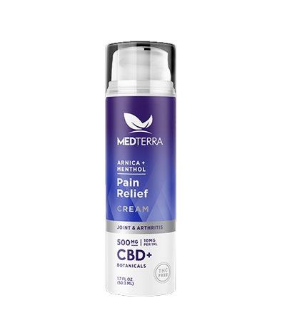 Medterra Pain Relief Cream (500mg)