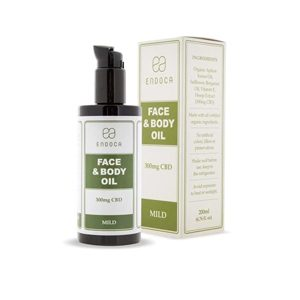 Endoca CBD Face Oil 300mg Broad Spectrum
