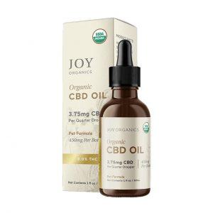Joy Organics Organuc CBD Oil Pet Formula