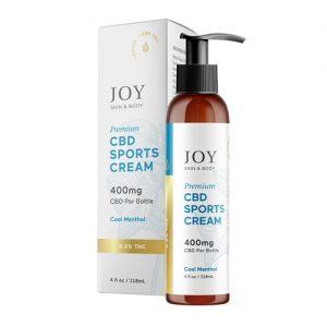 Joy Organics Sports Cream