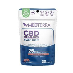 Medterra CBD Gummies Sleep Tight Strawberry (25mg)