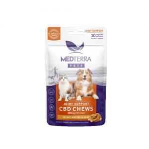 Medterra Pets CBD Chews Peanut Butter (300mg)